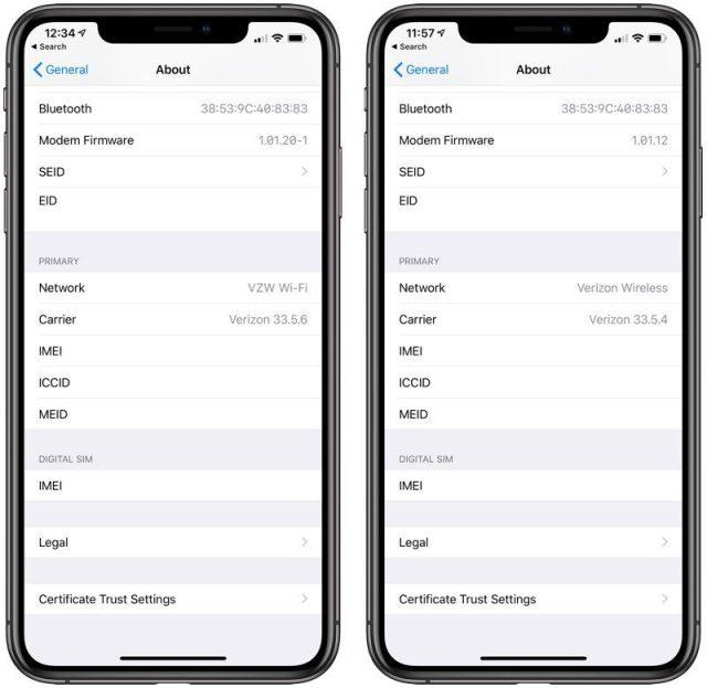updates iPhone
