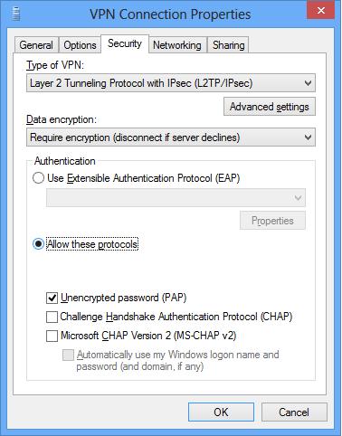 Type of VPN