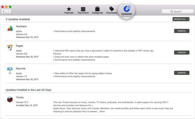 Update & Scan your MacOS