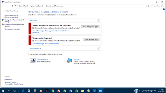 security windows The System Cannot Open The File