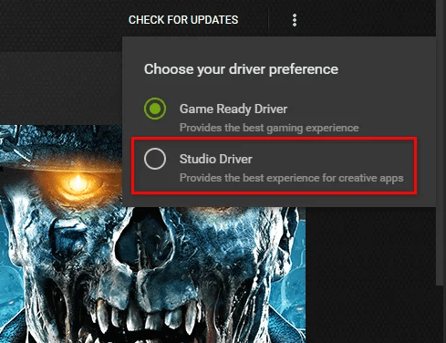 studio driver Dev Error 6328
