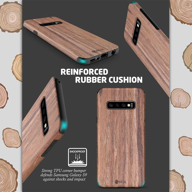 B Belk Wooden Shell Samsung Galaxy S10 Cover