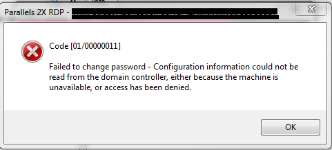 Configuration Information Could Not Be Read From The Domain Controlle