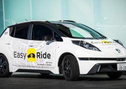 Japonya robot taksileri test etmeye başladı