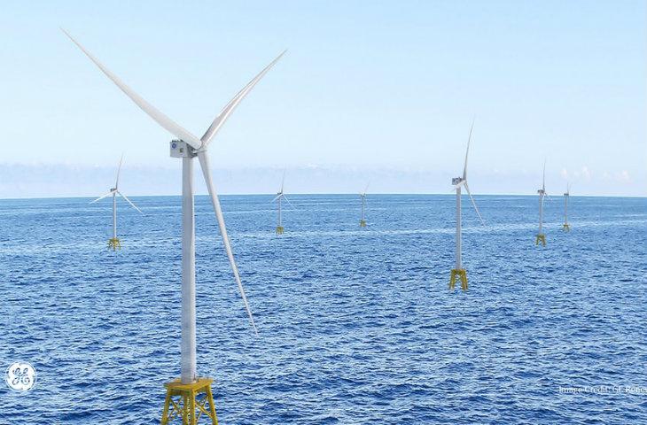 en büyük açık deniz rüzgar türbini