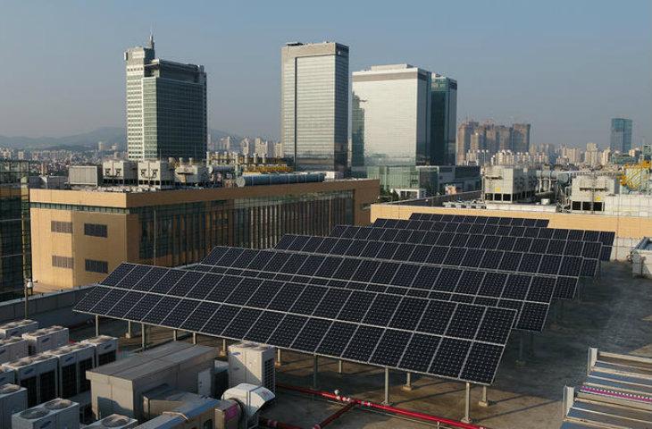 Samsung yenilenebilir enerji