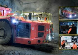 dünyanın ilk insansız madeni