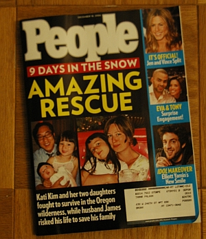 James Kim on the cover of People