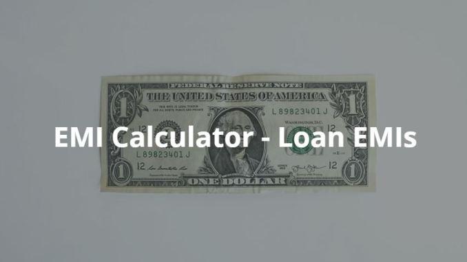 EMI Calculator App