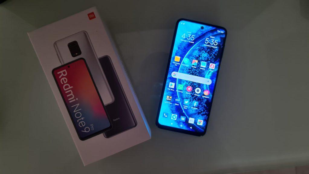 Xiaomi Redmi Note 9 Pro caja