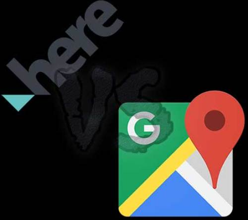 HERE WeGo vs Google Maps