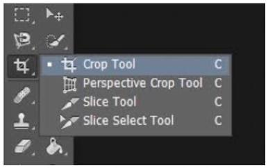 Crop Tool - Adobe Photoshop