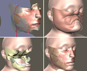With facial first transplant world