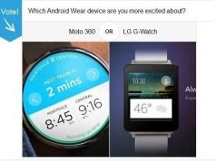 Moto 360 Vs LG Gwatch