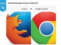 Firefox Vs Chrome techjaja polls