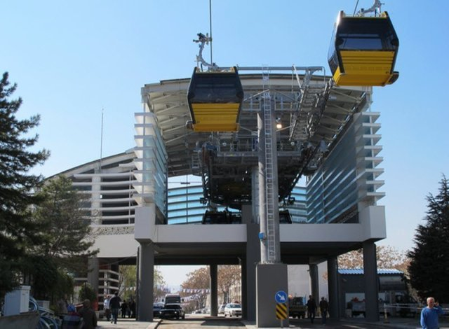 cable cars in kampla