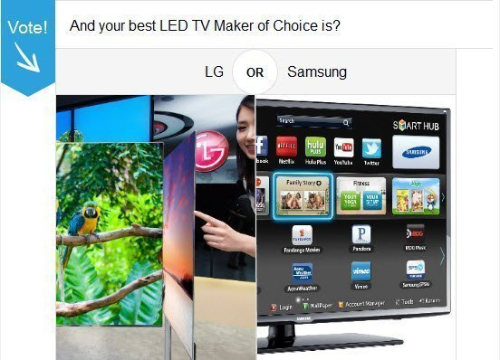 Samsung Vs LG LED TV