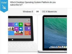 Windows 8 V Mac OS X Mavericks