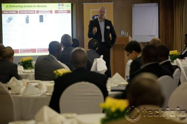 MTN CEO Brian Gouldie Presenting today at Serena Hotel