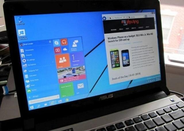 Windows 10 tech build on pc