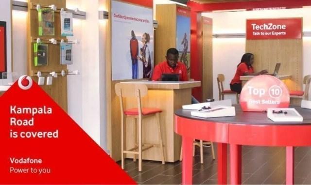 Vodafone Uganda shop