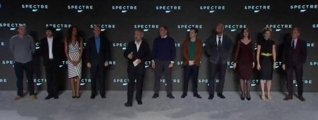 Jame bond Spectre cast