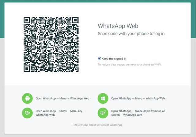 whats app on desktop
