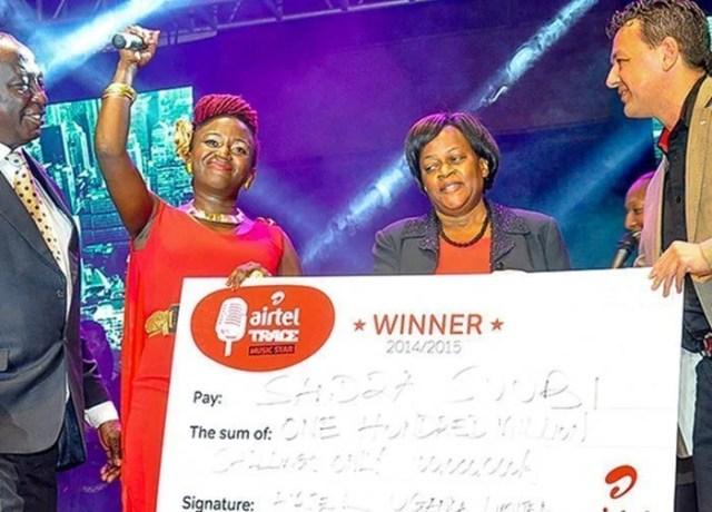 Airtel Trace music star winner 2015 Sandra_2