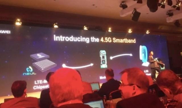 Huawei LTE-M 4.5G