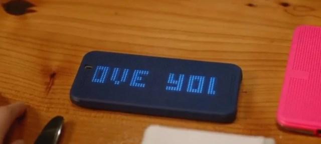 HTC One M9_dot view case