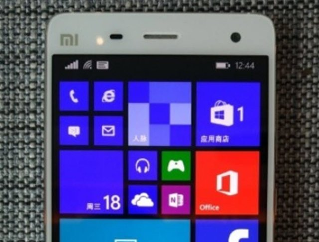Xiaomi Mi4 with windows 10