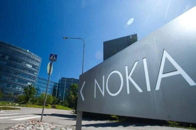 Nokia sign post