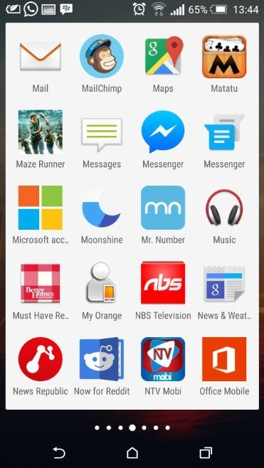 Whats on my Android Phon_App drawer_4