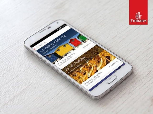 Emirates android app