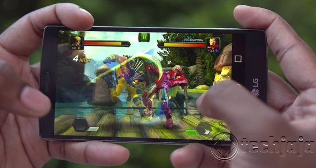 LG G4 review display gaming