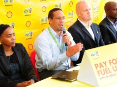 pay for fuel using MTN mobile money