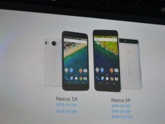 Nexus 6P and Nexus 5x
