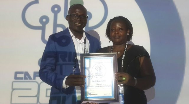 NSSF wins elearning award