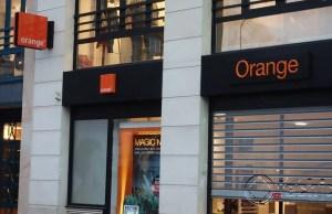 Orange exits kenya