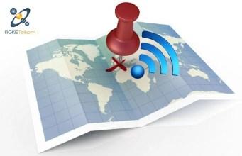 The RokeSpot WiFi coverage