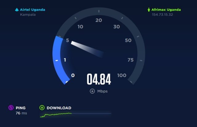 ookla speed test uganda