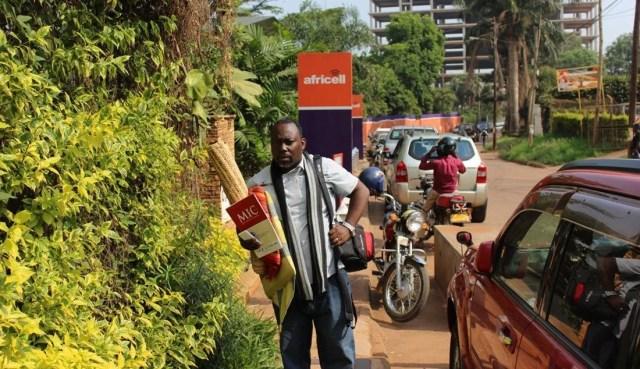 Richard Kaweesa Strikes at Africell Uganda