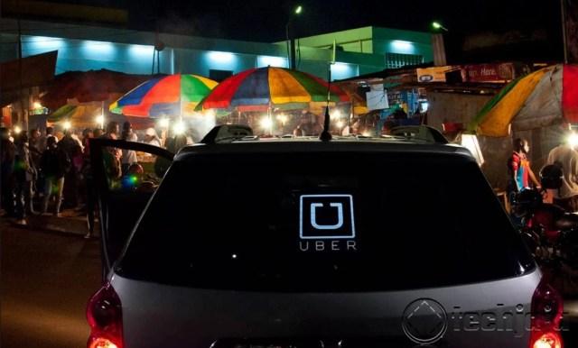 Uber in Kampala