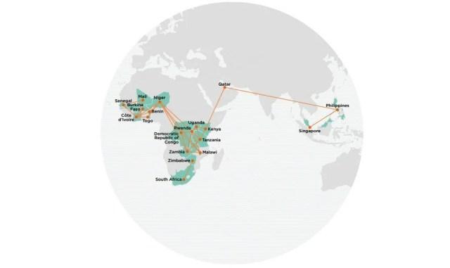 Mobile money world wide