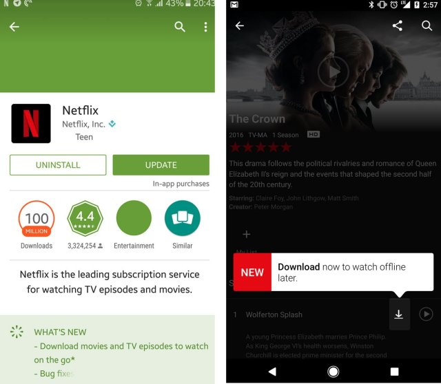 how to download tv shows to watch offline
