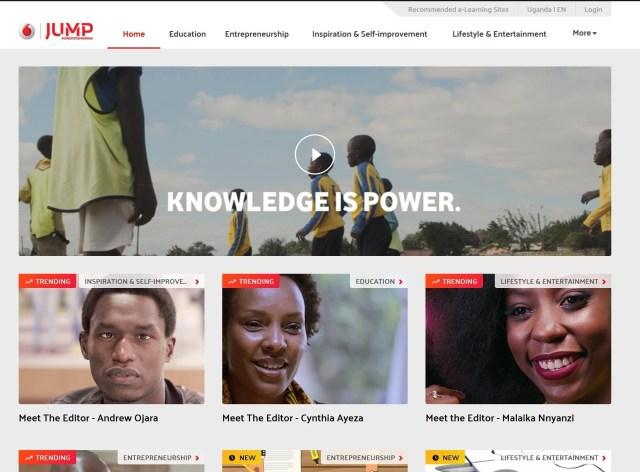 JUMP_Website vodafone