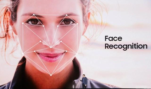 Galaxy S8 _facial recoginition