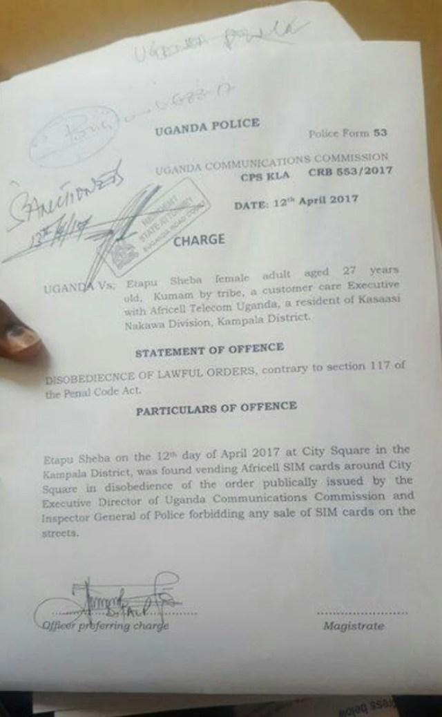 Etapu Sheba illegal SIM vendor arrested