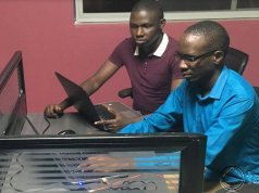 Daniel Okalany team leader of Kola Studio