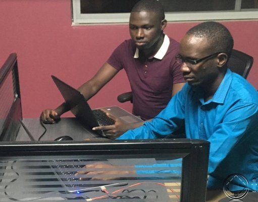 Daniel Okalany team leader of Kola Studio
